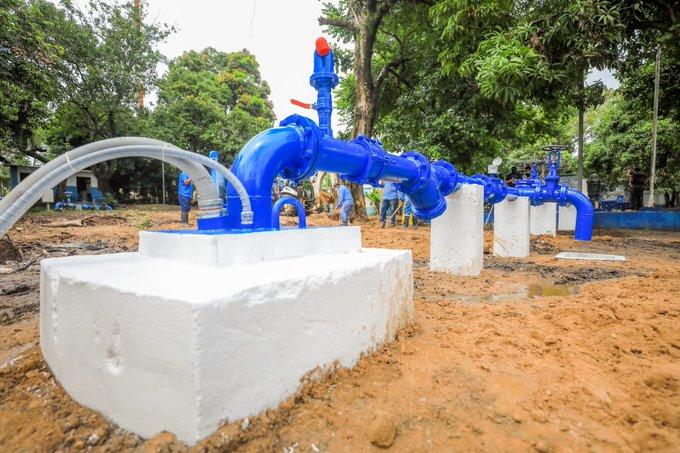 El Plan Nacional del Agua beneficia a 10 mil usuarios en Antiguo Cuscatlán.
